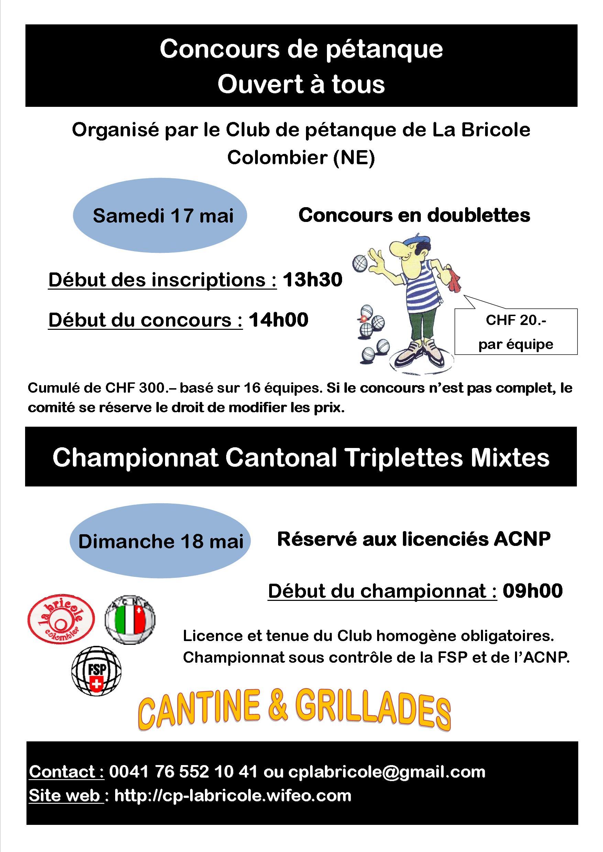 Affiche concours 17 et 18.05.2014
